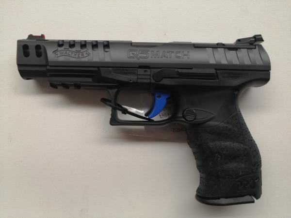 Walther Q5 match in 9x21