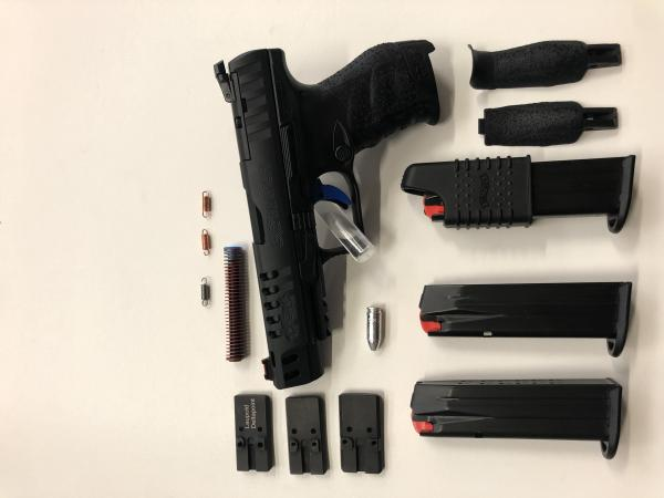 Pistola Walther Q5 nuova