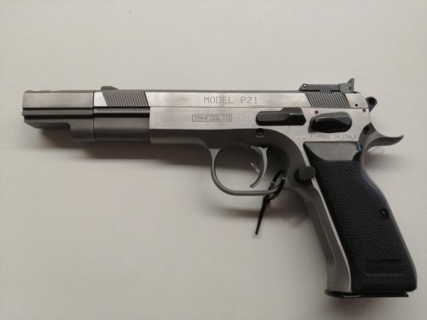 Pistola Tanfoglio usata P21L in 9x21